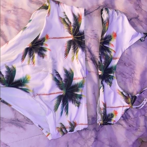 Palm tree bikini